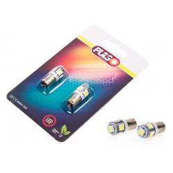 Лампи PULSO/габаритнi/LED T8.5/5SMD-5050/12v1.0w White