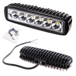 Фара прожектор LML-K1918 SPOT (6led*3w) 160mm*45mm (K1918 S)