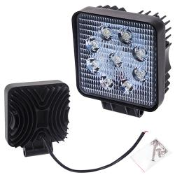 Фара прожектор LML-K0727 FLOOD (9led*3w) 105mm*105mm (K0727 F)