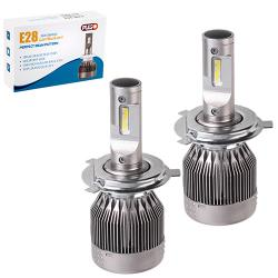 Лампы PULSO E28/LED/H4 P43T H/L/Flip Chip/12-24V/36W/3800Lm/6000K (E28-H4)
