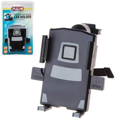 Держатель мобильного телефона PULSO UH-1012BK/GY (56-82мм) на дефлектор (UH-1012BK/GY)