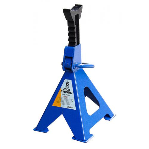 Стойка-поддомкратник 6т, min 395мм - max 605мм, T46001/42061, 2шт/компл (T46001)
