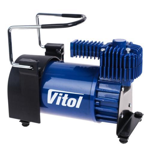 """Компрессор """"ViTOL"""" K-55 150psi/23Amp/50л/шланг 5,0м с дефлятором/клеммы (K-55)"""