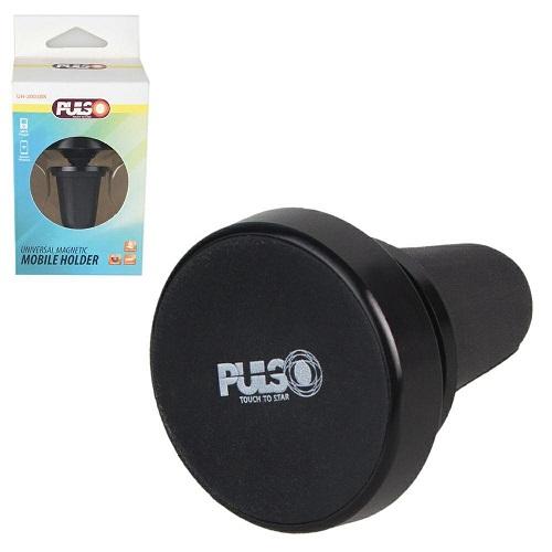 Держатель мобильного телефона PULSO UH-2003BK магнитный на дефлектор (UH-2003BK)